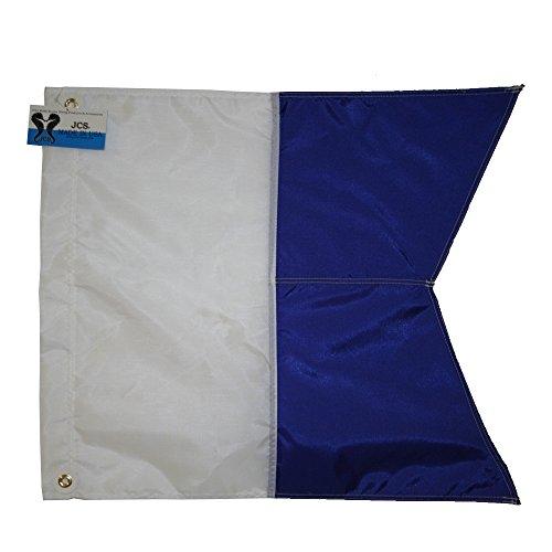 (JCS Nylon Alpha Flag, Slip on Style, 20inch x)