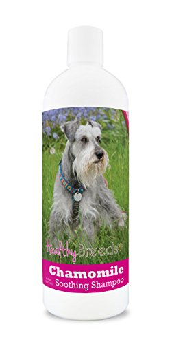 Healthy Breeds Chamomile Dog Shampoo & Conditioner with Oatmeal & Aloe for Miniature Schnauzer  - OVER 200 BREEDS - 8 oz - Gentle for Dry Itchy Skin - Safe with Flea and Tick Topicals