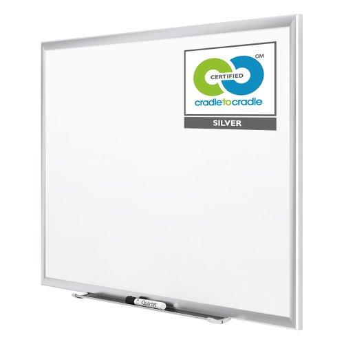 034138254301 - Quartet Magnetic Whiteboard, Premium Dry Erase Board, Duramax, 2 x 3 Feet, Silver Aluminum Frame (2543) carousel main 3