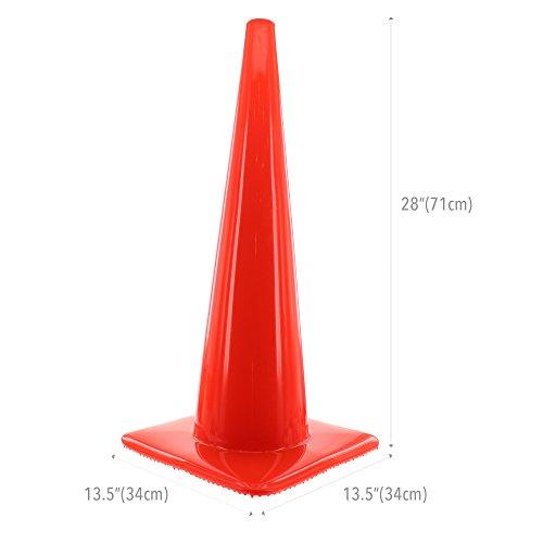 Honeywell 28'' Orange Traffic Cone (RWS-50012), Large by Honeywell Retail (Image #5)