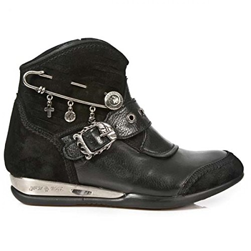 New Rock Black Leather M.Hy103 C1 Apache Women Apache Available on 35 days custom made Made Custom