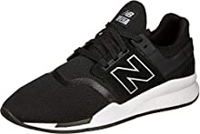 New Balance 247v2, Zapatillas para Hombre, Negro (Black Black), 40.5 EU