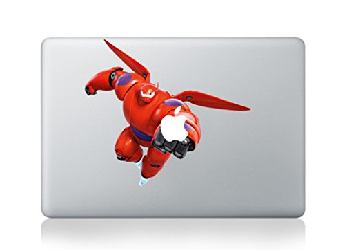 Big Hero 6 Baymax Cartoon Character Decal Sticker for Macbook Laptop Air Pro Retina 13 15 17 Inch Cool