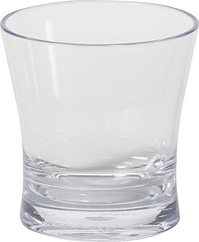 9 Ounce Juice (Carlisle 560907 Alibi Heavy-Weight Plastic Rocks / Juice Glass, 9 oz (Set of)