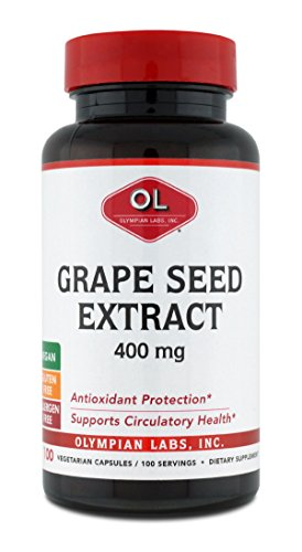 Olympian Labs Grape Seed Extract 400mg, 100