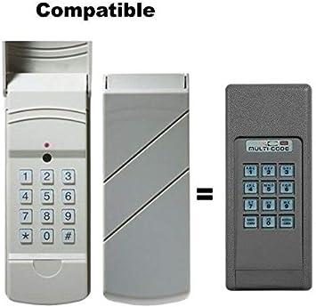 Multi Code 420001 300mhz Door Opener Wireless Keypad By Linear Amazon Com