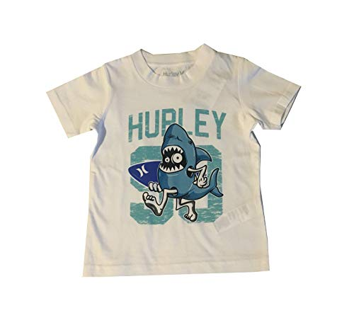 Hurley Toddler Boys Character T-Shirt White 2T
