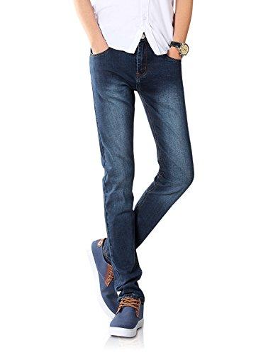 Demon&Hunter 808 Series Men's Skinny Slim Jeans DH8048(27)