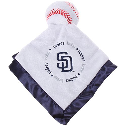 San Diego Padres Blue Baby Fanatic Security Bear Blanket - 14