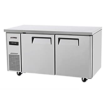 Great Turbo Air JURF 60 2 Door Dual Temp Undercounter Refrigerator/Freezer