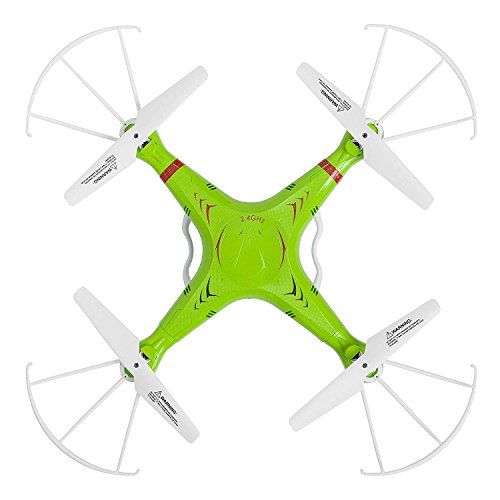 X5C RC Quadcopter Drone with 720p HD Camera and Headless Mode - 6 Axis Gyro RTF Includes Extra X5C RC Drone Battery to Double Flight Time