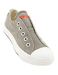 Converse Chuck Taylor AS Slip Ox Charcoal Kids Trainers