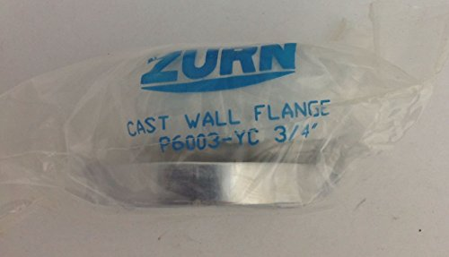 Zurn P6003-YC 주물 벽 플랜지 (Aquavantage 및 Aquaflush 밸브..