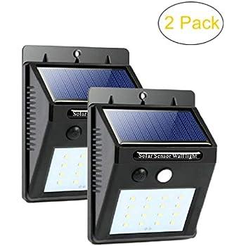 Led Solar Sensor Lights Outdoor Waterproof Motion Sensor