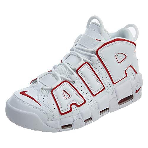 Scarpe Sneakers 42 Taglia Air '96 102 Bianco Basse More Unisex q16X1Fw
