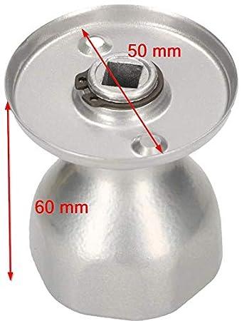 pomo para puerta resistente 1 unidad 5 colores Pomo giratorio para puerta KOTARBAU bola de acero lacado