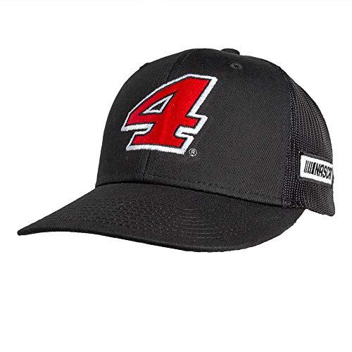 NASCAR Kevin Harvick 51342-BK/BK-Adjustable-Harvick Sports Fan Novelty Headwear, Black/Black, Adjustable