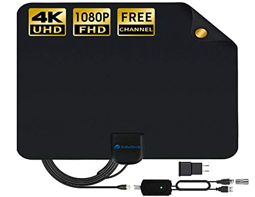 Antenna TV Digital HD indoor - 2019 Newest Digital Antenna for HDTV 120 Miles Range