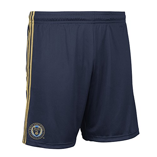 adidas MLS Philadelphia Union Men's Replica Shorts, Large, Navy Blue by adidas