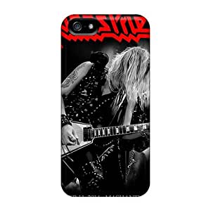 Iphone 5/5s BhR18835pSAC Customized Vivid Judas Priest Band Image High Quality Hard Phone Covers -InesWeldon