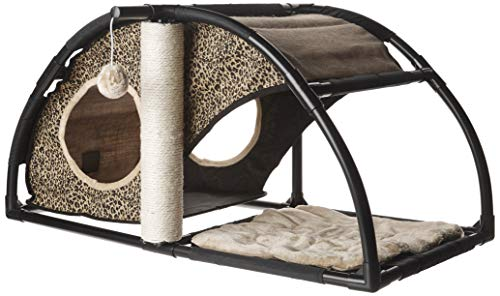 Prevue Pet Products Catville Condo Leopard Print 7200, Leopard Print