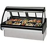 Federal Industries MCG-654-DM Curved Glass Refrigerated Red Meat Maxi Case