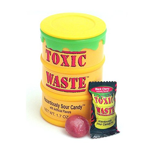 1 DRUM TOXIC WASTE ULTRA SOUR CANDY - Candy Drums