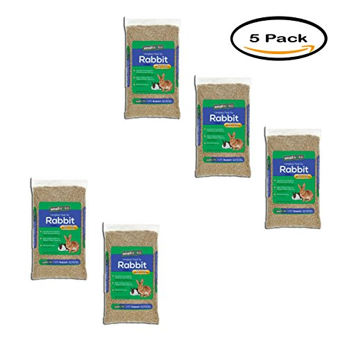 PACK OF 5 - Small World Complete Rabbit Feed, 10 Lb 10 Lb Rabbit Feed