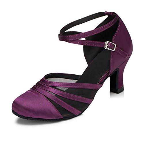 Danse Monie Salon de Violet femme Hwn70aFq7d