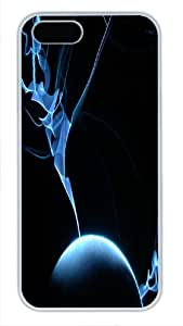 Beautiful Pattern For HTC One M8 Phone Case Cover White Pc Case - Vivid Flash Of Lightning - Amazing