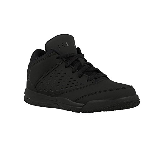 Nike JORDAN FLIGHT ORIGIN 4 BP boys fashion-sneakers 921197-010_3Y - BLACK/BLACK-BLACK by NIKE