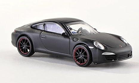Porsche 911 Carrera S (991), negro mate , Modelo de Auto, modello completo, Schuco 1:87: Amazon.es: Juguetes y juegos
