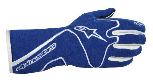 Alpinestars (3551113-72-2XL Blue/White XX-Large Tech 1 Race Gloves