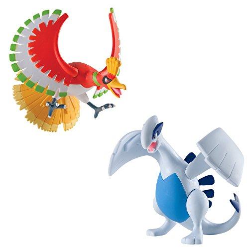 Pokémon Multi Legendary Figure Pack, Lugia And Ho-Oh