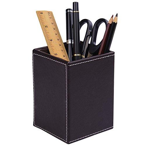 HardNok Leather Desktop Pencil Holder
