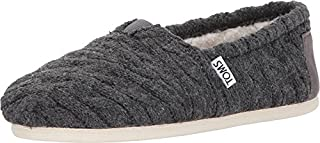 TOMS Women's Classic Knit Slip-On Forged Iron Grey Cable Knit Shearling 7 (B018TC34ZS) | Amazon price tracker / tracking, Amazon price history charts, Amazon price watches, Amazon price drop alerts