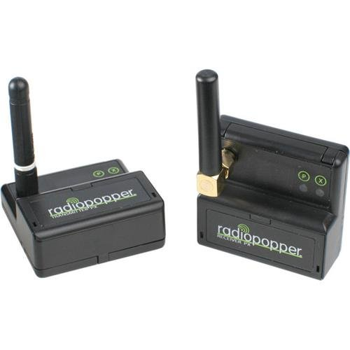 RadioPopper PX Studio Set for Nikon Camera, Includes Transmitter and Receiver, 868-868.6Mhz by RadioPopper