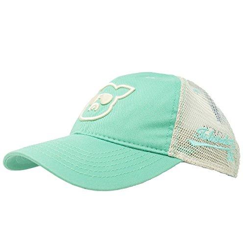 Islanders Pig Face Trucker Hat, Spearmint, One Size