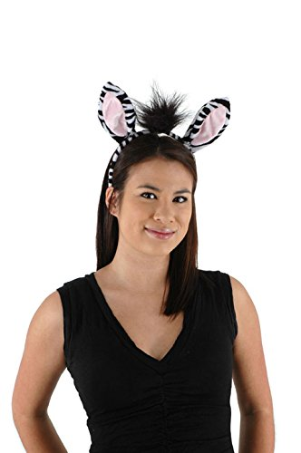 Zebra Ears and Tail Set -