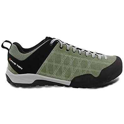 Five Ten Men's Leather Guide Tennie Urban Approach Shoes, Tent Green, 4