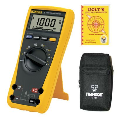 175 ESFP, CAT IV, CAT III, 1,000 VAC/VDC, Digital True RMS Auto Ranging Manual Ranging Multimeter