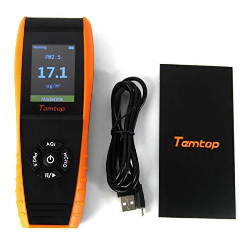 Temtop LKC 1000E Formaldehyde Detector Particles product image