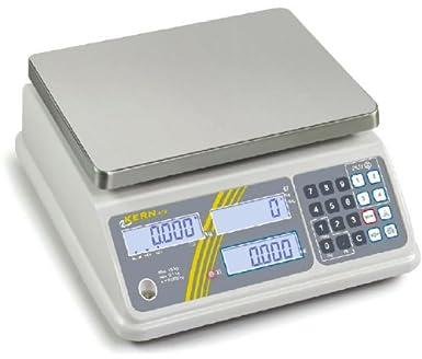 Compacta para principiantes de carga Báscula con grado de protección IP65 [Kern RFB 3 K1IPM