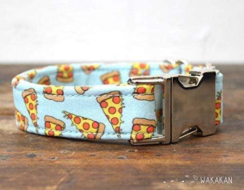 Collar Para Perro: Pizza, Hecho a Mano en España por Wakakán: Amazon.es: Handmade