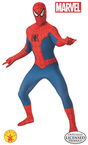 Spider Man Suit (Rubie's Men's Marvel 2nd Skin, Spider-Man,)