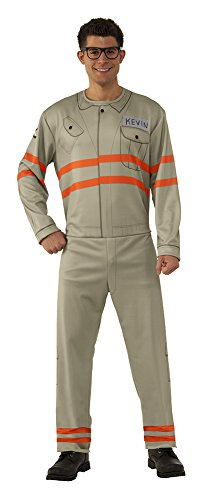 Rubie's Men's Ghostbusters Movie Adult Kevin Value Costume, Multi, (Ghostbusters Costume Men)