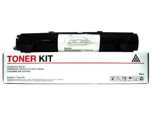 Speedy Inks Compatible Toner Cartridge Replacement for Panasonic KX-FA83 (Black)