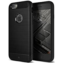 iPhone 6S Case, iPhone 6 Case, Caseology [Vault Series] Slim Fit Heavy Duty Protection Military-Grade Certified [Black] for Apple iPhone 6S (2015) & iPhone 6 (2014)