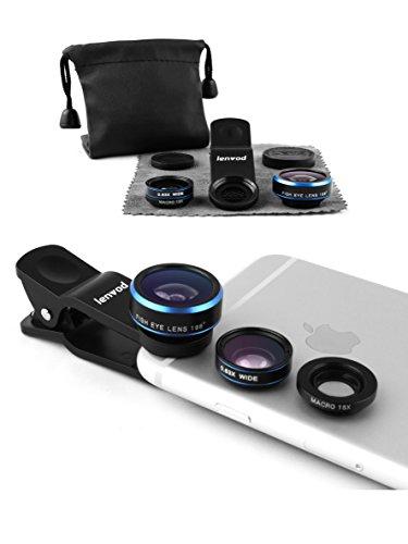 lenvod Phone Lens Fisheye Smartphones