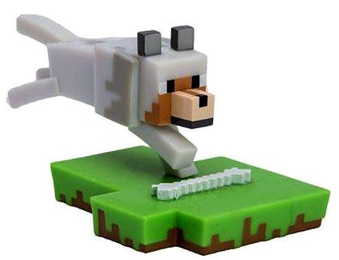 Series 1 Miniature (Minecraft Craftables Series 1 Wolf PVC Figure [Loose])